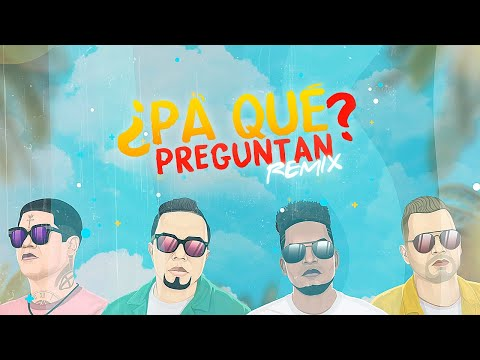 Alex Zurdo & Funky - ¿Pa' Qué Preguntan? (Remix) (Video Lyric) Feat Redimi2 + Alejandro