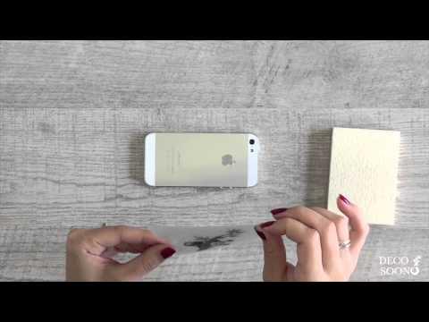 Comment poser un sticker sur un iphone deco soon youtube - Comment poser un kit deco ...