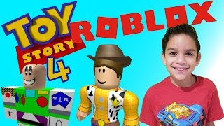 TOY STORY 4 MOVIE OBBY IN ROBLOX || GAMEPLAY 2019