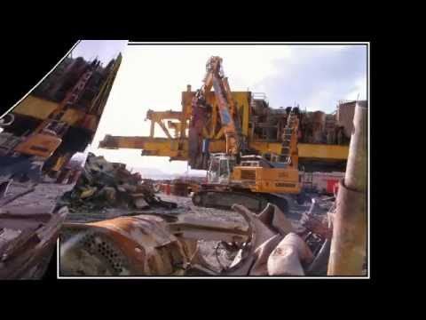 shetland decomision of gas rigg