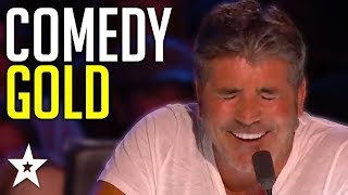 Comedian Gets Simon Cowell&#39s GOLDEN BUZZER On Britain&#39s Got Talent 2019! Got Talent ...