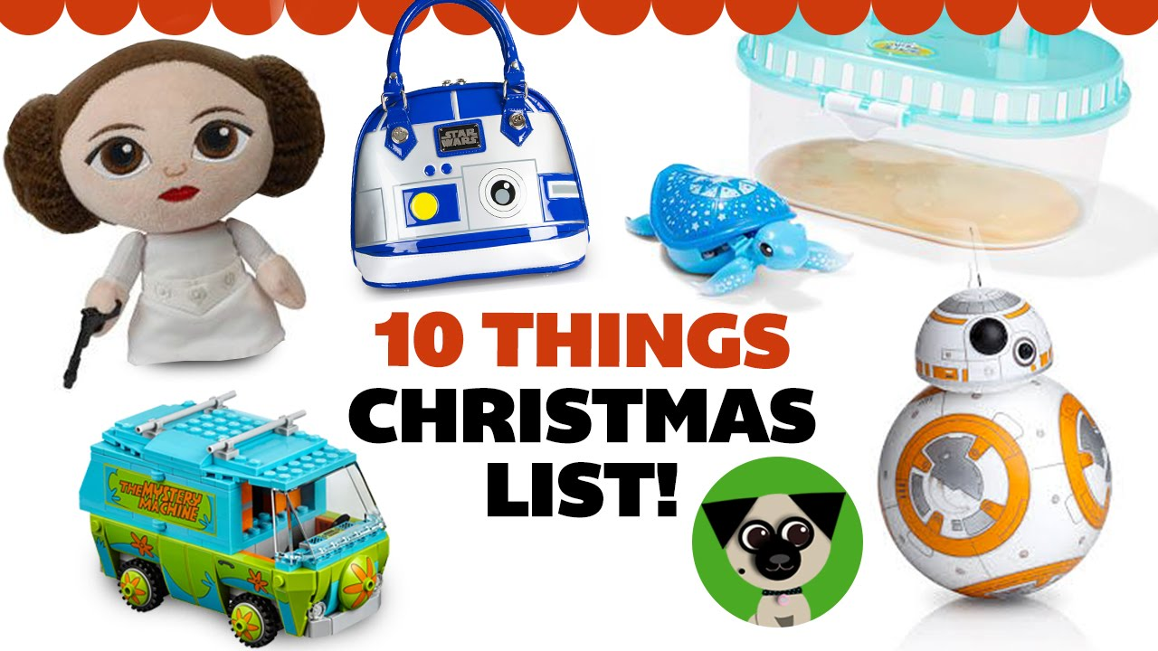 10 Things I Want For Christmas Awesome Holiday Gift Ideas Nerds And Kids At Heart