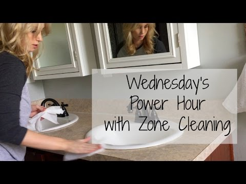 Wednesday Power Hour Speed Clean | Stay At Home Mom of Three
