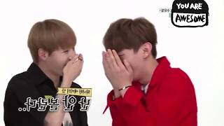 Video [ENG SUB] 170808 Weekly  Idol Wanna One 워너원 - Cute Water Park CF Battle download MP3, 3GP, MP4, WEBM, AVI, FLV Agustus 2017