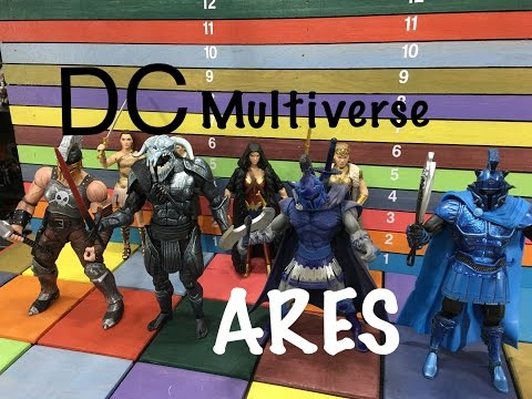 DC Comics Multiverse Wonder Woman  ARES Collect & Connect action figure toy review