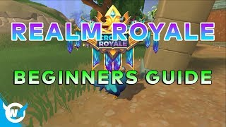BEGINNERS GUIDE - REALM ROYALE GAMEPLAY TIPS AND TRICKS