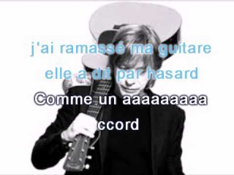 Karaoke - Jean louis Aubert -  Comme un accord