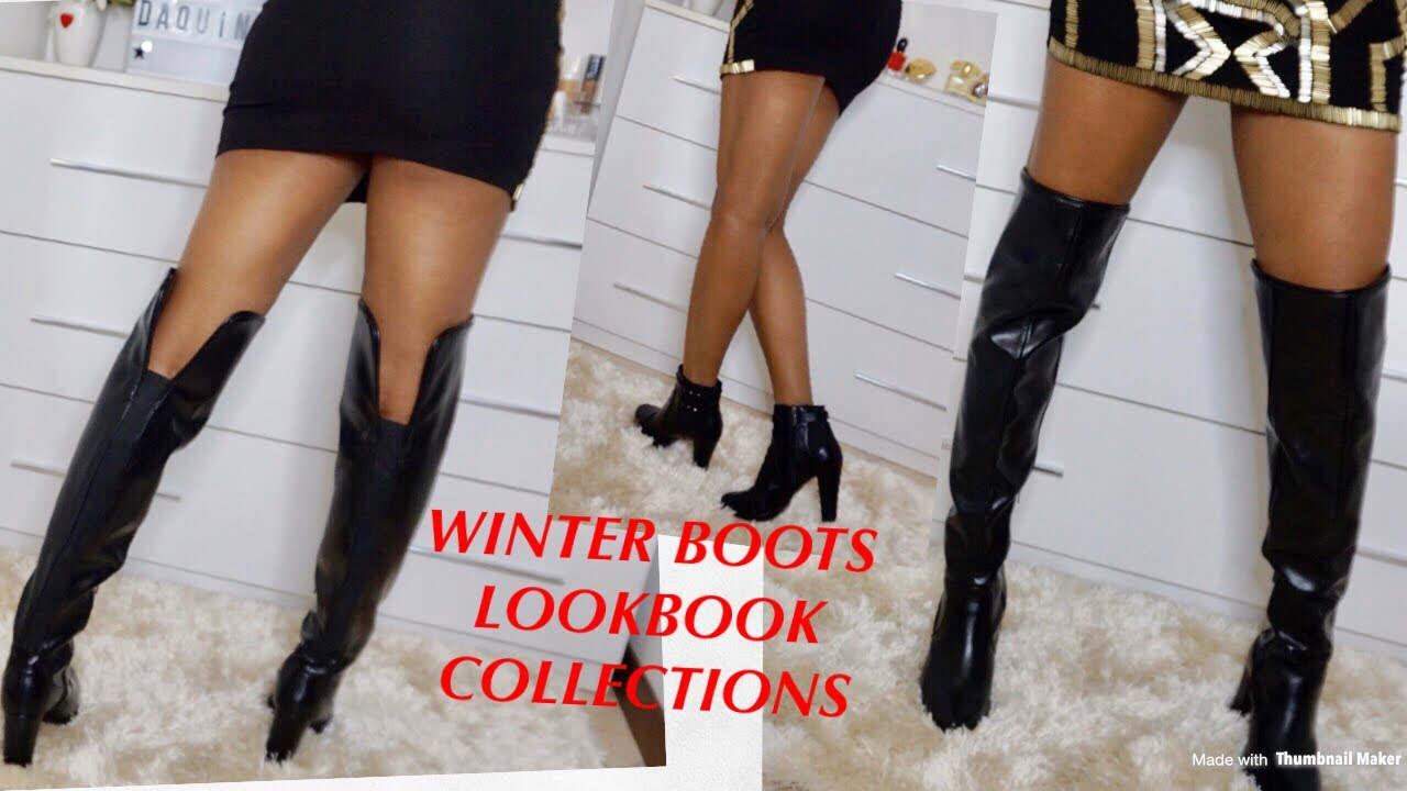 [VIDEO] - #boot#style Winter   Boots  Collections LookBook | Mystyle 5