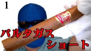 葉巻レビュー1「パルタガス ショート」