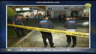 TV9 continuity into Berita TV9 4 8 2013 (7.58pm)
