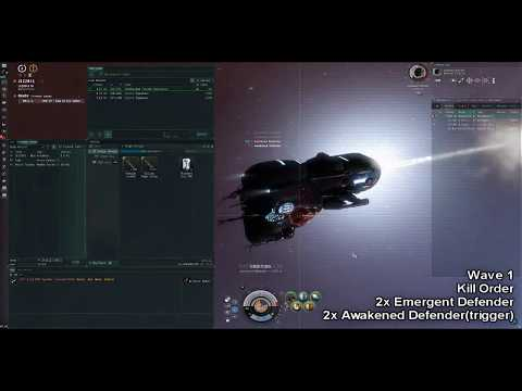 EVE Online - Solo Tengu Ratting - C3, Fortification Frontier Stronghold