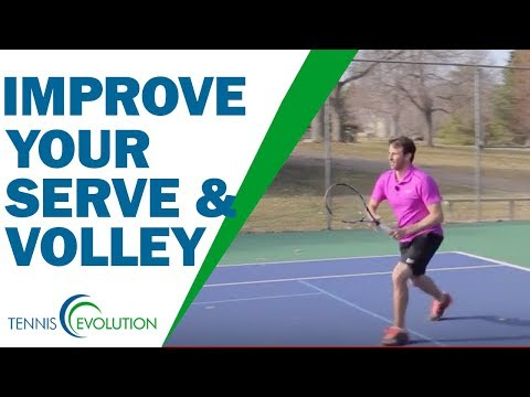 How To Improve Your Serve And Volley Game