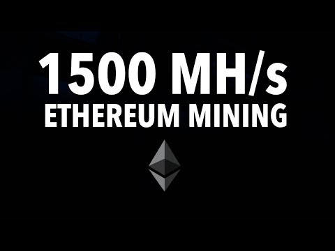 How Much Profit I Am Making Per Day Mining Ethereum With 1500 MH/s? | 08.27.2017