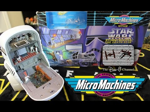 Stormtrooper//The Death Star Micro Machines Playset-Star Wars A New Hope