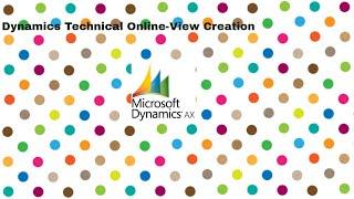 Microsoft Dynamics Axapta التنمية:-كيفية إنشاء عرض في Ax 2012 | تعلم الفأس التقنية على الانترنت