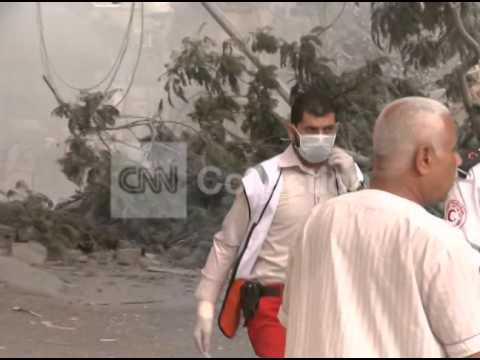 MIDEAST-GAZA AIRSTRIKES CONTINUE