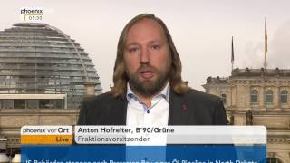 Wahlen in Österreich: Anton Hofreiter zu den Ergebnissen der Wahl am 05.12.2016