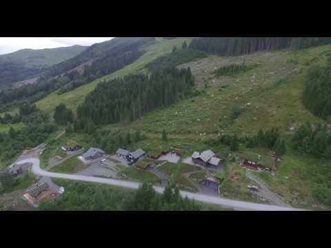 Visit Norway Harpefossen tourist camping and ski resort eid Norway
