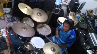 Video Ella - Drum Cover by wanzeen download MP3, 3GP, MP4, WEBM, AVI, FLV Juli 2018