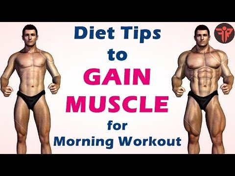 Bodybuilding Diet tips to gain muscle fast for morning workout | Fitness Rockers