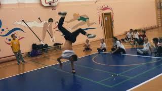 Брейк данс школа Техникс Бесплатный урок в школе №12