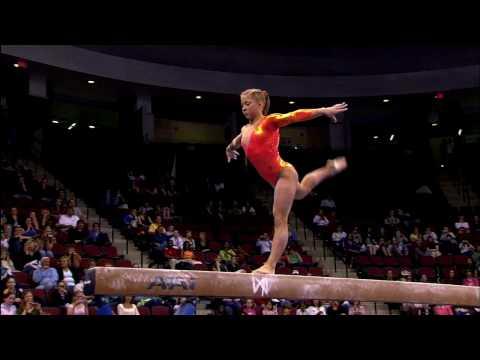Shawn Johnson - Balance Beam - 2008 Visa Championships - Women - Day 1