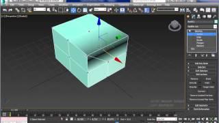 Модификатор Edit Poly в 3Ds Max. Видеокурс