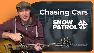 How to play Chasing Cars by Snow Patrol (Pop Guitar Lesson SB-201)