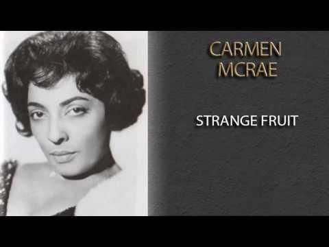 CARMEN MCRAE - STRANGE FRUIT mp3