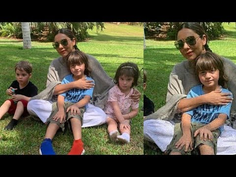 Gauri Khan First Time Spend Time With Step Son Abram Khan |Meer KJo's Twins