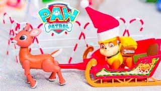 PAW PATROL Nickelodeon Paw Patrol Christmas Rubble Clause a Paw Patrol Video Parody