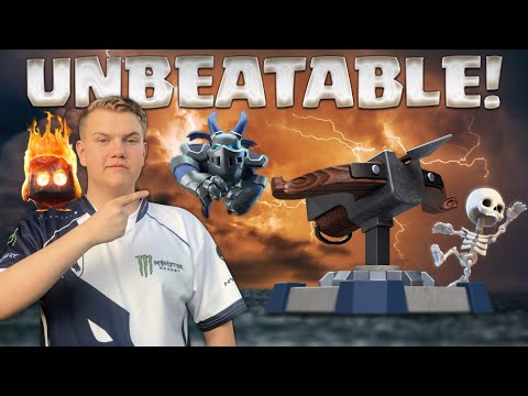 UNBEATABLE! 3.3 X-Bow Valkyrie Cycle Deck LIVE Ladder Gameplay - Clash Royale