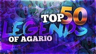 TOP 50 LEGENDS OF AGAR.IO