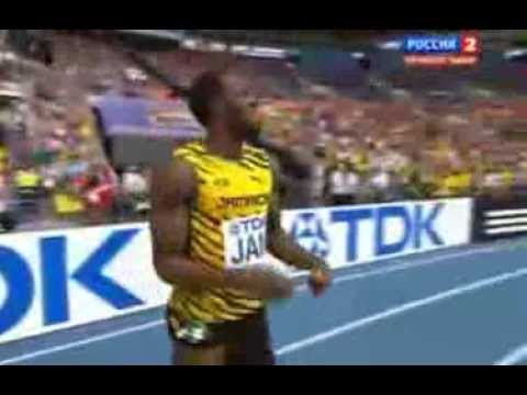 4x100 metres relay men final Moscow 2013 - Финал эстафеты мужчины 2013 Москва