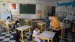 Déconfinement : rentrée des classes, mardi 12 mai à Montigny