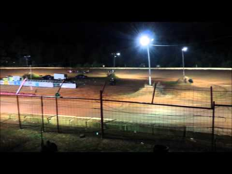 Southern Vintage Racing Association Heat Races 7/4/15 Flomaton Speedway