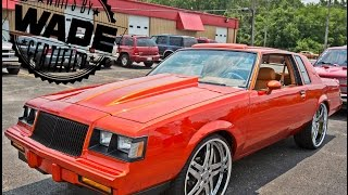 "Stunna Jam 2k15: Candy Orange Regal on 24"" Wheels"
