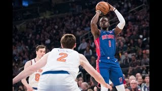 Detroit Pistons* CLINCH* Playoffs with Win over New York Knicks