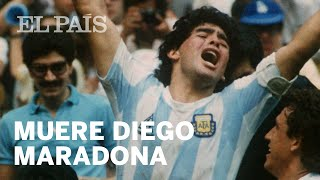 #MARADONA | Muere Diego Armando MARADONA.