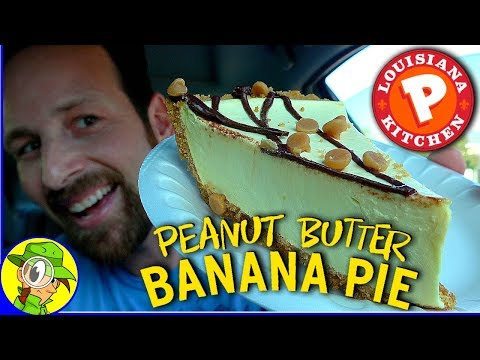 Popeyes® | Peanut Butter Banana Pie Review 🥜🍌🥧 | Peep THIS Out! ⚜