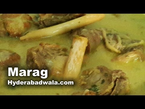Marag Recipe Video – How to make Hyderabadi Mutton soup – Easy, Simple and Quick cooking