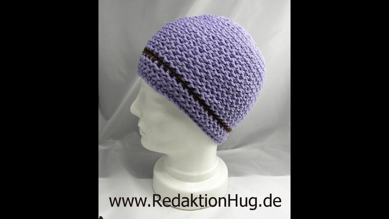 Häkeln Hug Mütze Variante A Aus Hatnut Xl 55 Youtube