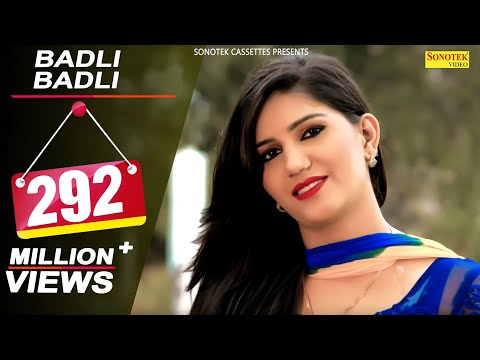 Badli Badli Laage | Sapna Chaudhary | Vickky Kajla | New Haryanvi Song 2018 | Latest Haryanvi Songs