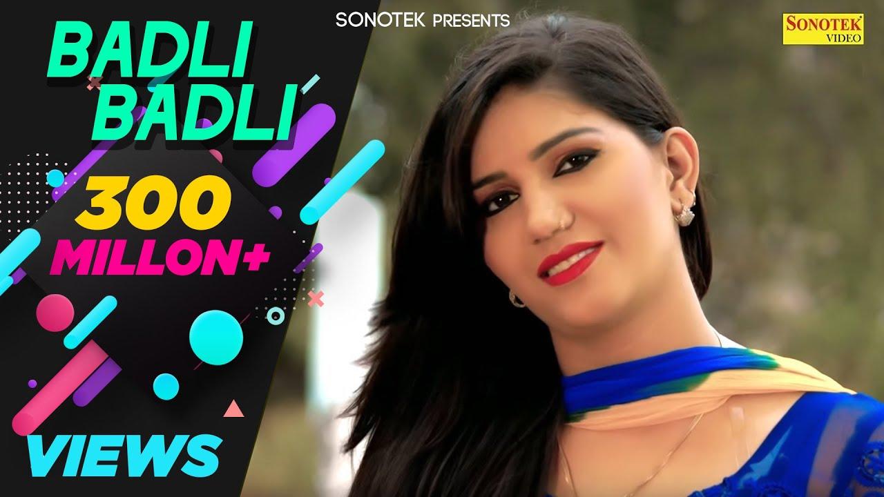 Badli Badli Laage | Sapna Chaudhary | Vicky Kajla, Ruchika | Latest Haryanvi Songs Haryanavi 2018 #1