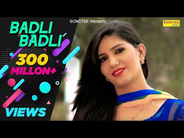 Badli Badli Laage | Sapna Chaudhary | Vicky Kajla, Ruchika | Latest Haryanvi Songs Haryanavi 2018