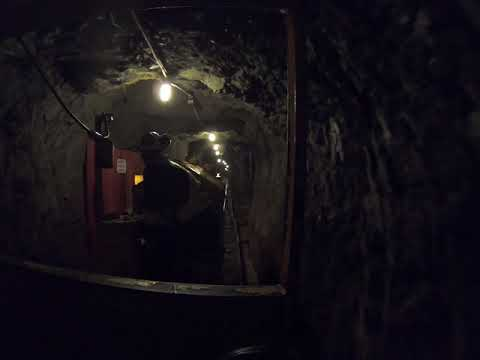 5/14/19 - Britannia Mine Museum Tunnel Trolley