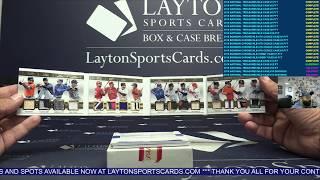 2018 Panini National Treasures Baseball 4 Box Case Break #12