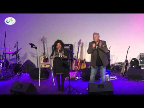 Optreden Arjan en Efi Knevel tijdens opnames cd Leen Koster IJsselstein 12 03 2016