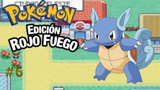 pokemon rojo fuego capítulo 6:La primera evolución cerca del puente