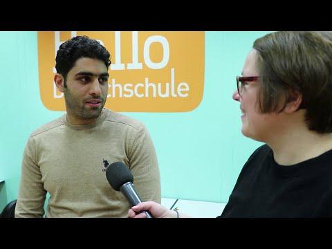 Easy German besucht die Hallo Deutschschule! Deutschkurse in Zürich!